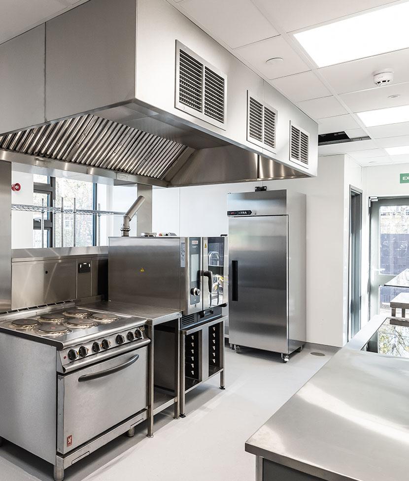 Sir Bobby Robson School Kitchen Layout